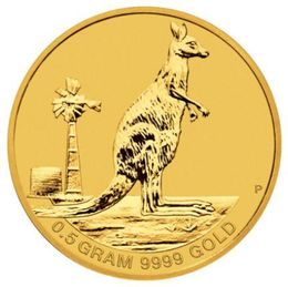2012 Australia Mini Roo 0.5g Gold Coin